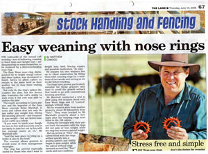 The Land article June 2006